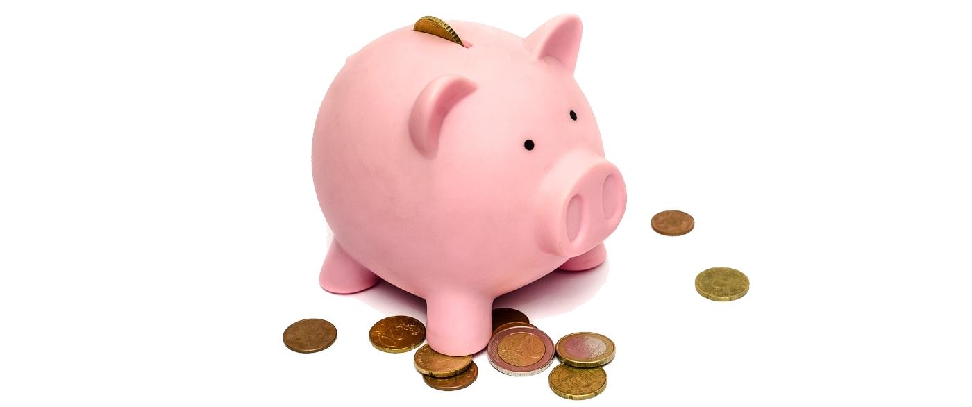 Einfache Energiespartipps für Unternehmen / Foto: rosa Sparschwein