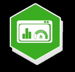 Grafik: Abbildung visualisierte Messdaten mit Smart Meter - sense electra als Messstellenbetreiber